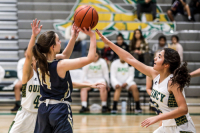 Gallery: Girls Basketball Selah @ Quincy